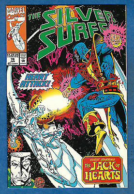 THE SILVER SURFER # 76 - Marvel 1992 (vf)