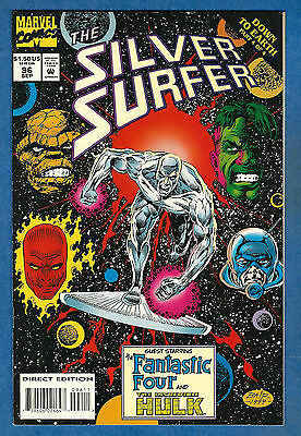 THE SILVER SURFER # 96 - Marvel 1994 (vf) Down To Earth Pt. 4