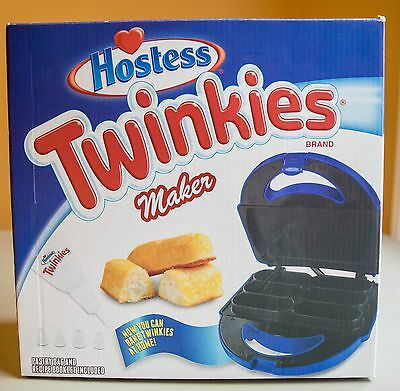 Hostess Twinkies Maker Includes Pastry Bag and Recipes, Makes 6 at Once