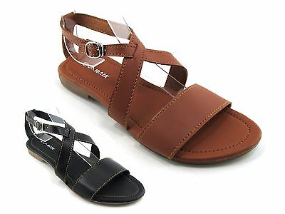 New Evawalk Women Sandals Flip Flops Thong Flat Gladiator Casual T Strap Toe