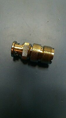 PL259 female to BNC male adapter