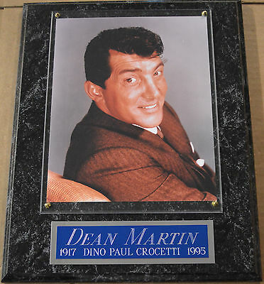 #1 Fan Dean Martin Framed 8 X 10 Photo Wall Plaque Display Poster Sign Cd Album