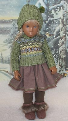 Winter Pretties -- Outfit for Sasha Doll