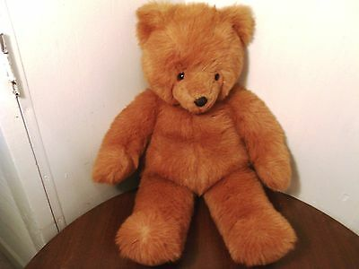 """1987 GUND LARGE 22"""" TEDDY BEAR, Penney's Exclusive! - dec"""