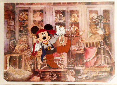 """MGM Cel - Mickey Mouse as Pirate Mickey """"A Pirate's Life"""""""