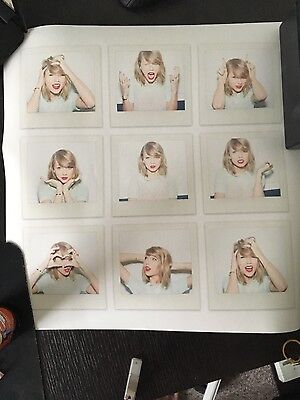 Taylor Swift 1989 Authentic Poster
