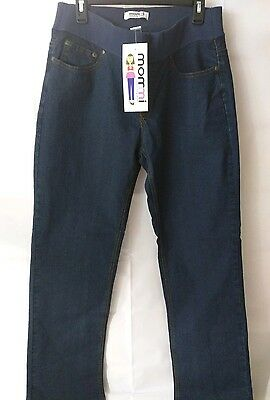 Women's L MOMMI Maternity Jeans NWT, Cotton/Spandex Blend
