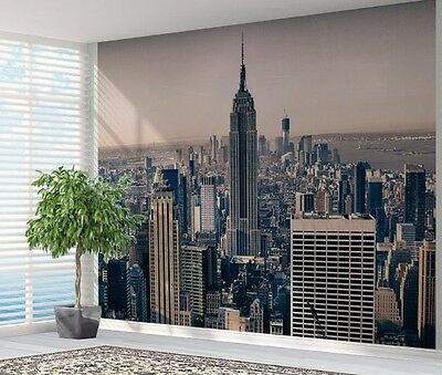 Empire state building New York cityscape wallpaper photo wall mural (12894259)