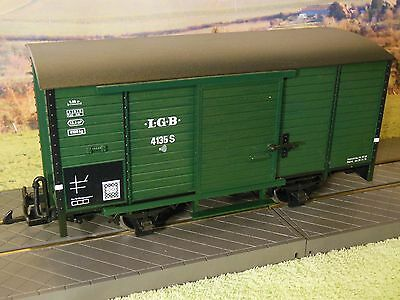 LGB 41352 G Scale Steam Locomotive Sound Wagon in green livery Excellent Boxed.