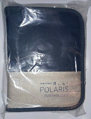 New United Airlines Deluxe Polaris Business Class Travel Amenity Kit--Dec 2016