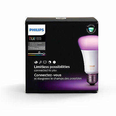 Philips (464479) White and Color Ambiance A19 Starter Kit, 3rd Generation NEW!!