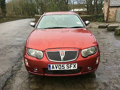 2005 Rover 75 Connoisseur Se 2.0 Cdti 96 Red Turbo Diesel