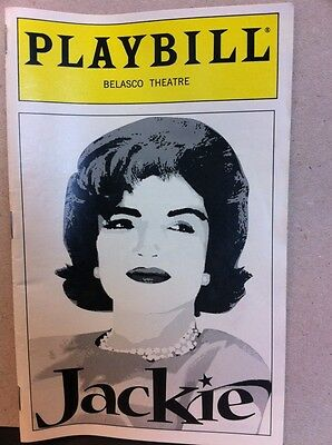Jackie An American Life Broadway Playbill New From 1998