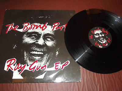 THE BOMB PARTY 12 inch single- RAY GUN EP