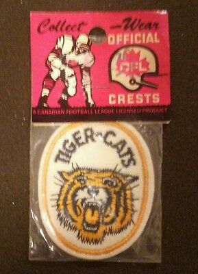 Vintage Hamilton Tiger-Cats Patch NIP!
