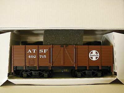 LGB 45210 G Scale Santa Fe bogie gondola open wagon unused Mint Boxed.