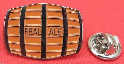 Beer Barrel Lapel Pin Badge Real Ale Breweriana Gift Hen Stag Brooch