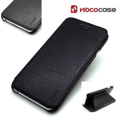 Leather HOCO CRYSTAL SERIES Wallet Book case for APPLE IPHONE 6 PLUS - BLACK