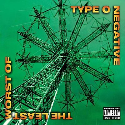 """Type O Negative 'The Least Worst Of' 2x12"""" Vinyl - NEW"""