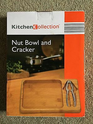 Nut Bowl And Cracker