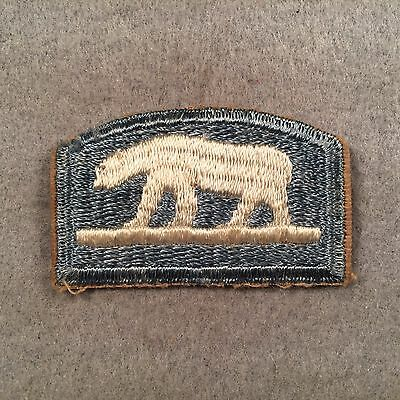 Patch King WW1 US Army North Russia Expedition Patch FE 294M