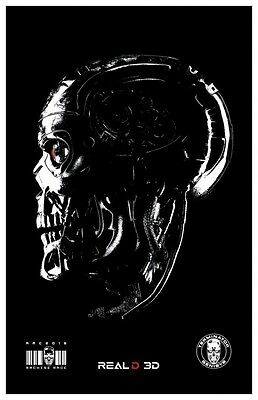 "Terminator Genisys Original Promo Movie Poster AMC IMAX Exclusive 11"" x 17"""