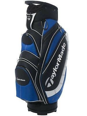 Brand New * Taylormade Monaco Cart Bag * Black / White / Blue