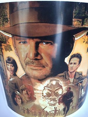 Indiana Jones & The Kingdom of the Crystal Skull Movie Theater Popcorn Tub 2008