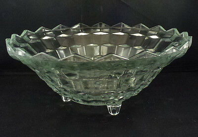 "Indiana Glass ""Whitehall"" Footed Bowl 10"""