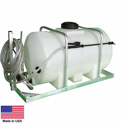 SPRAYER Commercial - Skid Mounted - 12 Volt DC - 35 Gallon Tank - 1.6 GPM