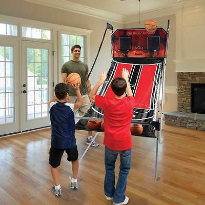Franklin Dual Hoops Rebound Pro.  Arcade Style Basketball Game