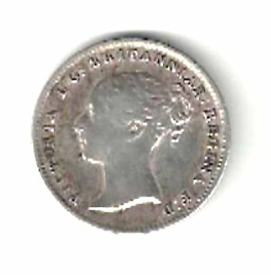 Great Britain - Four Pence, 1839 - Silver