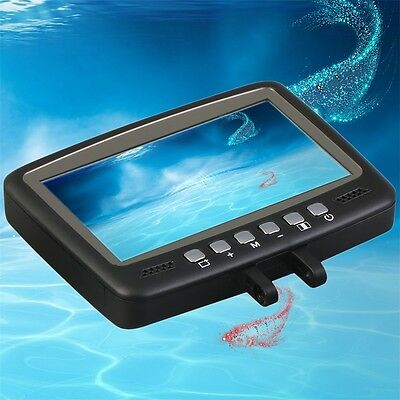 Fish Finder Video Underwater Fishing Camera 4.3 Monitor Night Vision 15m AO