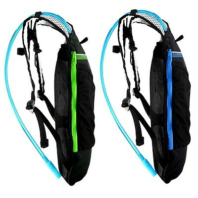 Cycling Bicycle Hiking 4L Multifunctional Backpack + Hydration Water Bag AO