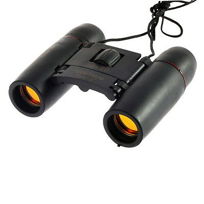 New 30 x 60 Zoom Outdoor Travel Folding Day Vision Binoculars Telescope AO