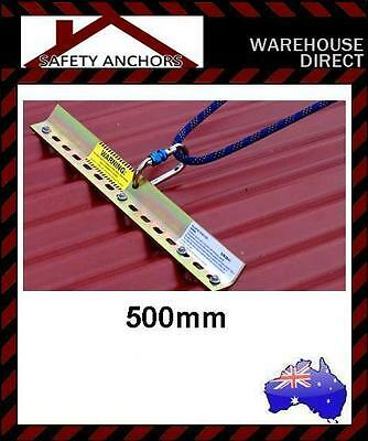 Roof Anchor Point , Restraint Tether Plate 500mm Height Safety Protection