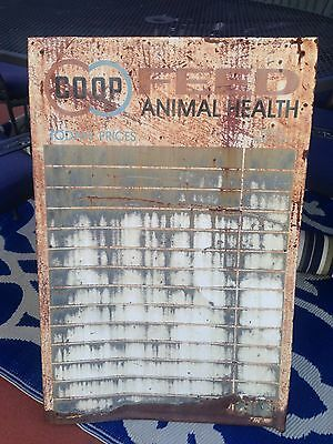 Vintage CO OP Feed Sign