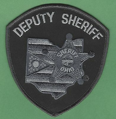 State Of Ohio Deputy Sheriff Tactical Police Patch
