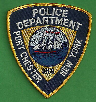 Port Chester New York Police Patch