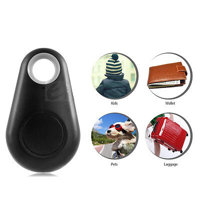 Anti-lost Alarm Bluetooth Key Chain Locator Smart Trackers Finder Discover Black