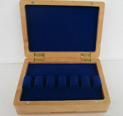 Beautiful Wooden bassoon  reeds case hold 12 pcs reeds Strong
