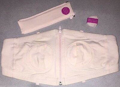Simple Wishes Hands Free Pumping Bra Size XS-M. With Accessories. Free Shipping!