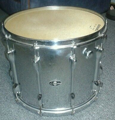 "Vintage Slingerland Marching Snare Drum chrome  Wrap , maple shell 15"" x11"""