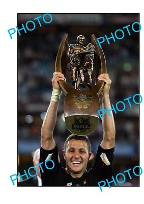 Scott Prince Wests Tigers 2005 Nrl Premiership Win Large A3 Photo 1