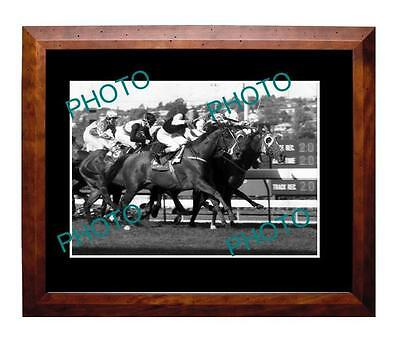 Super Impose 1992 Cox Plate Win Large A3 Photo