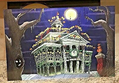 Haunted Mansion Holiday Nightmare Before Christmas Changing Lenticular NBC RARE