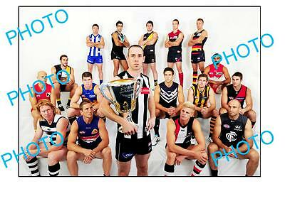 Nick Maxwell Collingwood Fc Captain Large A3 'captains Shoot' Photo
