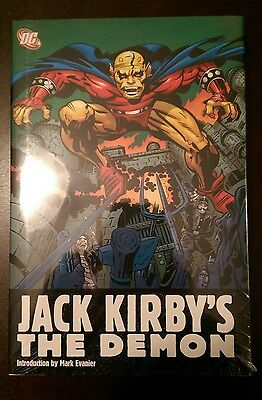Jack Kirby's The Demon New and Sealed Hardcover HC Omnibus Out of Print OOP 2008
