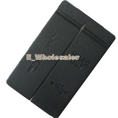NEW USB/HDMI DC IN/VIDEO OUT Rubber Door Cover For Canon EOS 40D Camera Part