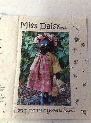 "Doll Making Pattern By Josey Freni  ""Miss Daisy"""